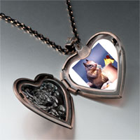 Necklace & Pendants - tropical squirrel heart locket pendant necklace Image.