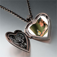 Necklace & Pendants - butterfly monkey heart locket pendant necklace Image.