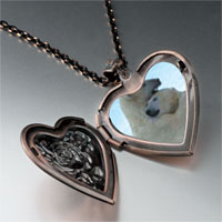 Items from KS - polar bear hug heart locket pendant necklace Image.