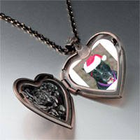 Necklace & Pendants - christmas dog heart locket pendant necklace Image.
