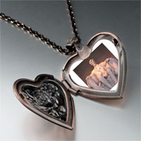 Necklace & Pendants - lincoln memorial washington dc heart locket pendant necklace Image.
