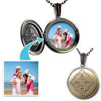 Round Cross Classic Pendant Necklace Beads Charms Bracelets