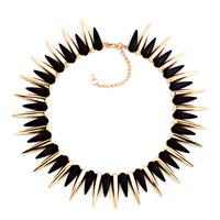 Statement Necklace Fashion Party Ball Golden Tone Chain Bubble Necklace Pendant