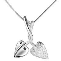 Mothers Love Mother Charms Birthstone Charms Couple Leaves Sterling Silver