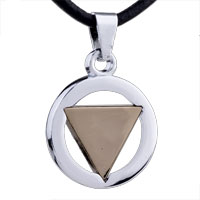 Mothers Day Gifts Geometric Shaped Stainless Steel Necklaces Pendant For Men