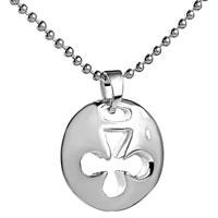Filigree Vintage Antique 925 Sterling Silver Club Medallion Pendant Necklace 18 In Sterling Silver Pendant