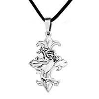 Cross Necklaces Dragon On Complicated Celtic Cross Pendant
