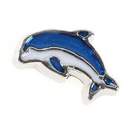 Floating Charms Dolphins Animal Charms For Living Memory Lockets