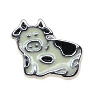 Floating Charms Lovely Pig Animal Charms For Living Memory Lockets