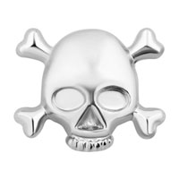 Vivid Skull Floating Charms For Living Memory Lockets