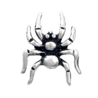 Floating Charms Spider Silver Tone For Living Memory Lockets
