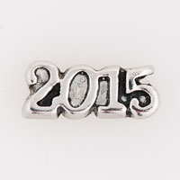 Silver P Charms Year 2015 Floating Charms For Living Memory Locket