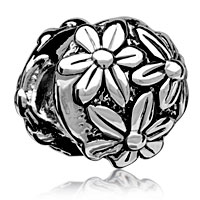 Bright Chrysanthemum Floral European Bead Charms Charms Bracelets