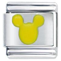 Micky Yellow Spring Fashion Jewelry Italian Charm