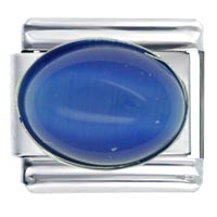 Blue Lapis Lazuli March Fashion Jewelry Italian Charm