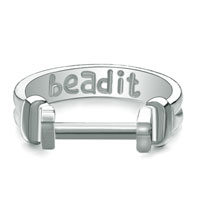 Silver Fashion Beadit Ring Great Gifts Beads Charms Bracelets Fit All Brands