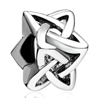 Fashion Silver P Celtic Love Knot For Beads Charms Bracelets Fit All Brands