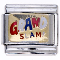 Grand Slam Italian Charms For Bracelets