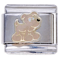 Little Dog Animal Charms Italian Charms For Bracelets
