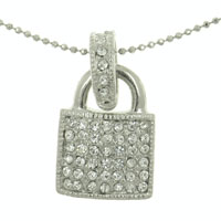 Padlock Pendant Necklaces