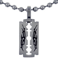 Tribal Stainless Steel Necklaces Pendant For Men