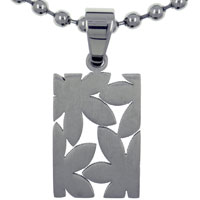 Daisy Stainless Steel Necklaces Pendant For Men