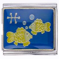 Horoscope Zodiac Pisces Italian Charm Bracelets Mega Mega Italian Charm