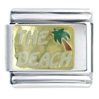 Beach White Work Leisure Italian Charm