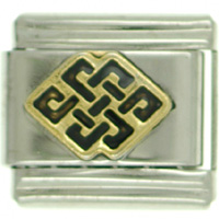 Endless Knot Italian Charms