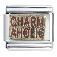 Golden Italian Charm Bracelet Goldenaholic Words Phrases