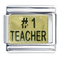 Number Teacher Schools Italian Charm