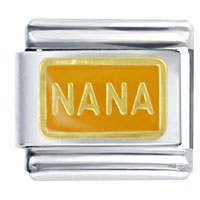 Orange Nana Special Categories Italian Charm