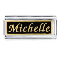Michelle Name Italian Charm