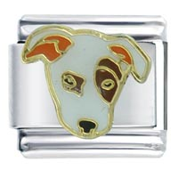 Bull Terrier Dogs Italian Charms