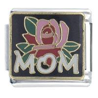 Mom Flower Italian Charm