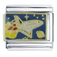 Shuttle To Space Italian Charms