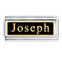 Joseph Name Italian Charms Bracelet Link