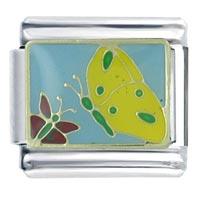 Butterflies Italian Charm Bracelet
