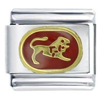 Leo Red By Price Italian Charm