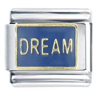 Dream Blue Words Phrases Italian Charm
