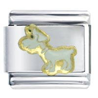 Goat Animal Italian Charms Bracelet Link