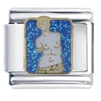 Venus De Milo Statue Italian Charms Bracelet Link