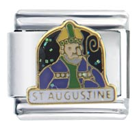 St August Peridot Colorine Italian Charm