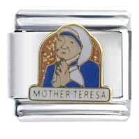 Mother Teresa Italian Charms