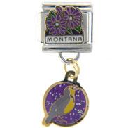 Montana Italian Charms Bracelet Link Dangle Italian Charm