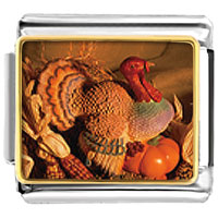 Italian Charms - turkey italian charms bracelet link photo italian charm Image.