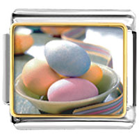 Items from KS - bowl easter eggs italian charms bracelet link italian charms bracelet link photo italian charm Image.