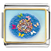 Items from KS - world butterflies march fashion jewelry italian charm photo italian charm Image.