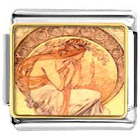 Italian Charms - mucha' s poetry italian charms bracelet link photo italian charm Image.