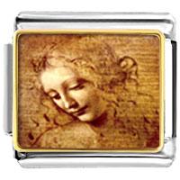 Da Vinci Picture Italian Charms Bracelet Link